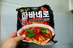 Stress Down Hot Spicy Korean Instant Noodle CHALLENGE! HABANERO Ramen 3,7,10ea #EMART