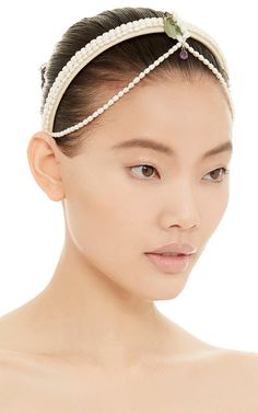 May Lily Pearl Headband by Masterpeace Now Available on Moda Operandi