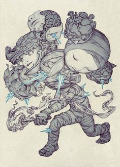 New illustrations by James Jean James Jean was born in Taiwan and graduated from New York City's School of Visual Arts.
