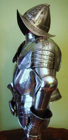 Armor 1550-1600 morion helmet