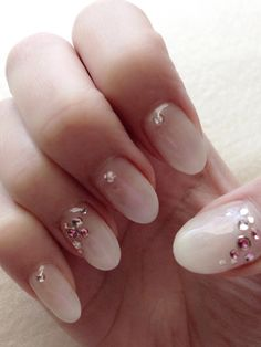 Gel Nail design for spring♡