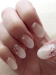 Gel Nail design for spring♡