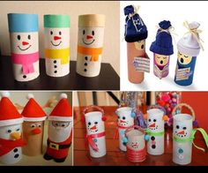 For the little boy, who loves to save toilet paper rolls that random craft idea. fae3e2bb819301c615fea01a600d39a2.jpg (640×534)