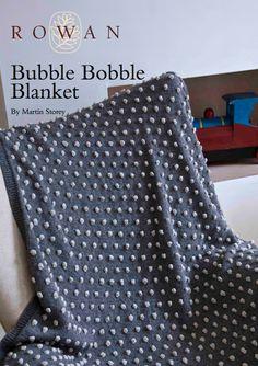 Free 1950's Knitting Pattern - Bobble Blanket
