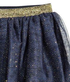 Tulle Skirt | Dark blue | Kids | H&M US