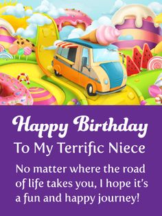 Send Free To a Fabulous Niece - Happy Birthday Wishes Card to Loved Ones on Birthday & Greeting Cards by Davia. It's free, and you also can use your own customized birthday calendar and birthday reminders.