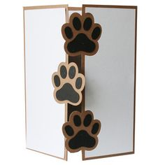 Silhouette Design Store - browse-my-designs Tarjetas Diy, Pet Sympathy Cards, Animal Cards, Happy Birthday Cards, Folded Cards, Greeting Cards Handmade, Homemade Cards, Stampin Up Cards, Cardmaking