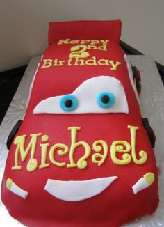 Lightning McQueen cake gifts-and-parties