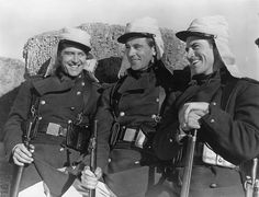"Beau Geste""   a movie from 1939, with Gary Cooper, Ray Milland, Robert Preston, Brian Donlevy"