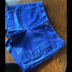 Banana Republic Shorts  Stunning BR rich blue shorts! Very elegant, Martin Fit, no stains odors or rips. Must summer have  Banana Republic Shorts