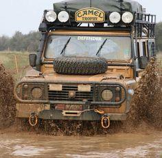 Land Rover Defender 110 Station Wagon 300 Tdi Diesel Camel Trophy