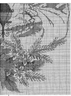 ru / Photo # 73 - Towel and Tablecloth - gada Cross Stitching, Cross Stitch Embroidery, Embroidery Patterns, Cross Stitch Patterns, Cross Stitch Boards, Theme Noel, Christmas Embroidery, Cross Stitch Flowers, Christmas Cross