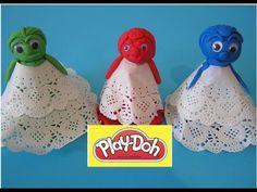Play Doh 3 Surprise Princesses Disney Daisy Duck Trash Pack Dora the Explorer