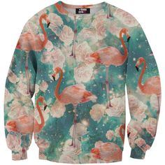 Pullover mit Flamingo-Druck // Flamings sweater by Mr. Gugu & Miss Go via dawanda.com