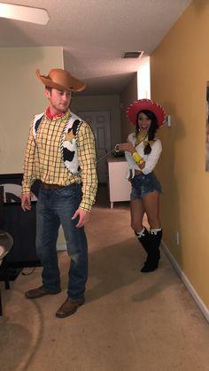 54828da5eba00 Woody   Jessie. Toy story. Halloween costume Toy Story Halloween Costume