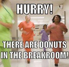 Donuts in the break room