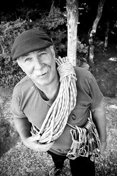 A Gunkie, and an inspiration to generations of climbers: 'Hot' Henry Barber. Mountain Climbing, Rock Climbing, Tower Climber, Mountain Club, Extreme Sports, Climbers, Outdoor Life, Barber, Motivation