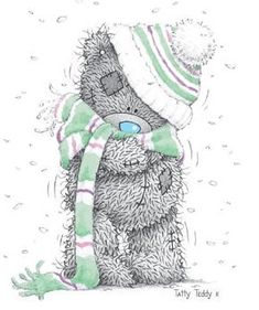 Bundle up tatty its cold out!