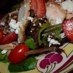 Strawberry and Feta Salad II Allrecipes.com