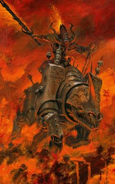 Tagged with warhammer blood for the blood god, warhammer fantasy, warhammer wednesday, warhammer Shared by GigglingWordBearer. The Blood God, Khorne Fantasy Battle, High Fantasy, Dark Fantasy Art, Warhammer 40k Art, Warhammer Fantasy, Warhammer Figures, Chaos Daemons, Ange Demon, Arte Horror