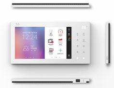 스마트기기로 하자관리까지…금호산업 월패드ㆍ스마트어울림 앱 '눈길' | 헤럴드경제 미주판 Heraldk.com Ui Ux Design, Interface Design, User Interface, Smart Panel, Tablet Ui, Credit Card Readers, Smart Home Design, Multimedia, Dashboard Ui