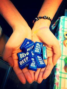 1 апреля 2014  Шоколадные конфетки deep =) Привлекло конечно название ))