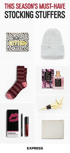 Searching for some holiday gift giving inspiration? Find something for everyone with these chic and affordable gifts from Express. They also make the perfect accessories for that fast-approaching holiday party. So if you decide to treat yourself instead, we promise we won't tell anyone. Shop the list today.