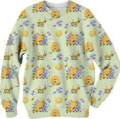Bee Dance All Over Print sweatshirt