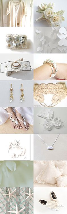 August gift color White by Irina and Margarita on Etsy--Pinned with TreasuryPin.com
