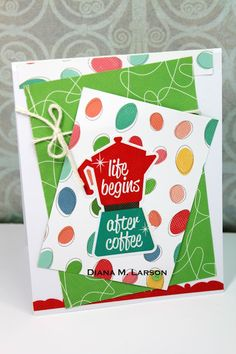 DL.ART : 2017 Spring Coffee Lovers Blog hop DAY #4