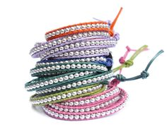 Fun summer bracelets... for a little bit of extra luck!!! GOOD LUCK ELEPHANT® bracelets by the Lucky Elephant®
