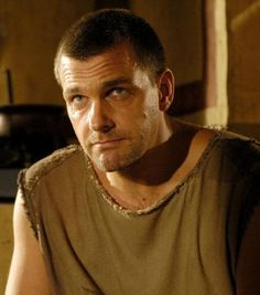 """Ray Stevenson in one of his best roles...Titus Pullo in HBO's """"Rome"""""""