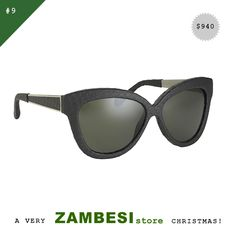 """a very ZAMBESIstore christmas has been selected by Kylie Cooke! """"I'm crossing my fingers I'll find these Linda Farrow Anniversary Sunglasses under the tree this year. A chic & practical gift that. Cross My Fingers, Practical Gifts, Linda Farrow, Kylie, The Selection, Anniversary, Sunglasses, Chic, Cover"""