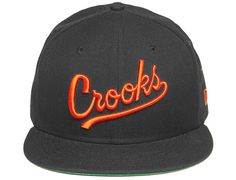 Play Ball Woven Fitted Cap by CROOKS & CASTLES x NEW ERA