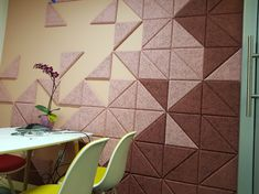 Conference room with Baux triangles