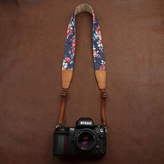 BESTTRENDY Camera Strap Nikon Canon DSLR Camera Neck Strap for Men and Women Color Blue