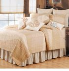 The Sand Dunes Beach Bedding. Soothing shades of sand, light brown and tan with a pattern of a gentle wave!