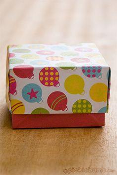 christmas gift boxes to print and fold