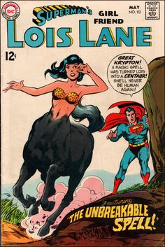 Superman's Girl Friend Lois Lane n°92 (May 1969) - Cover by Curt Swan and Neal Adams oO'
