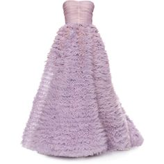 Luisa Beccaria dress - by Satinee ❤ liked on Polyvore featuring dresses, gowns, vestidos, long dresses, purple ball gown, luisa beccaria, purple gown and purple dress
