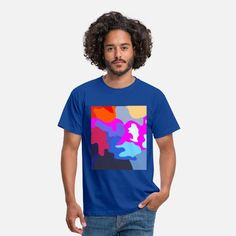 Mordern Patten Color Explosion Comouflage Männer T-Shirt Color Explosion, Sticker, Women, Things To Do, Stickers, Decal, Woman