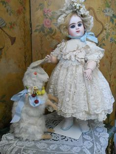 ~~~ Very Beautiful French Bisque Bebe by Etienne Denamur ~~~ from whendreamscometrue on Ruby Lane