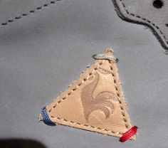 Le Coq Sportif Textiles, Leather Label, Brand Collection, Clothing Labels, Leather Projects, Leather Design, Hang Tags, Label Design, Fashion Branding