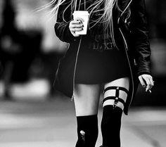 definitely weekend, night out, Grunge Goth Dark Fashion #NitroFashion