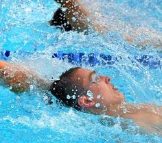 SWIMMING: Straight A's for the Bux-Mont