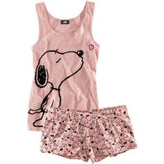 #Snoopy #teen #pajamas corto sisa