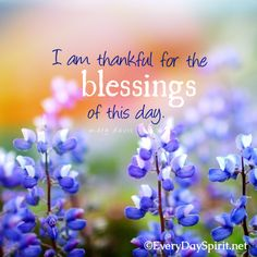 I am thankful for the blessings ~ For the app of wallpapers, visit ~ www.everydayspirit.net xo