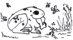 Velká žába snědla dítě