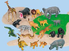 Classic Wild Animal Collection at Lakeshore Learning
