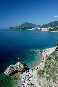 fingers crossed this summer...Top 10 beaches in Europe: Becici, Montenegro